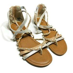 Justice girls sandals